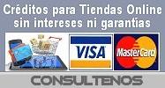 Créditos para su tienda online